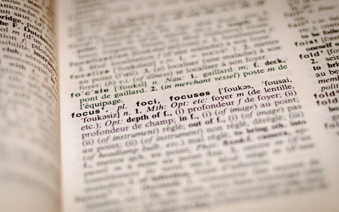 vak jargon in Quaning - woorden die we vaak gebruiken