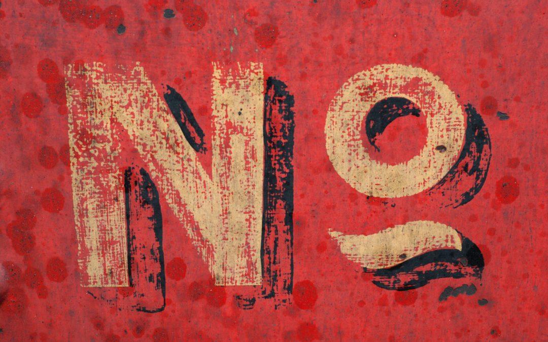 Nee zeggen op je werk